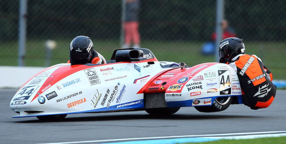 Success in FIM Sidecar World Championship - PAGID Racing