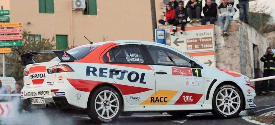 Spanish Tarmac Rally Championship: Victory for Cristian García with