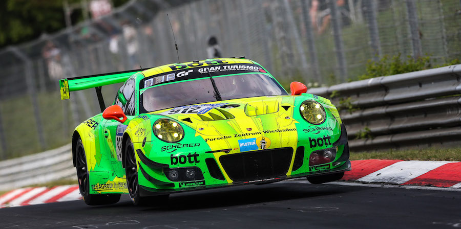An Overwhelming 1 2 3 In The 24 Hour Race At Nürburgring